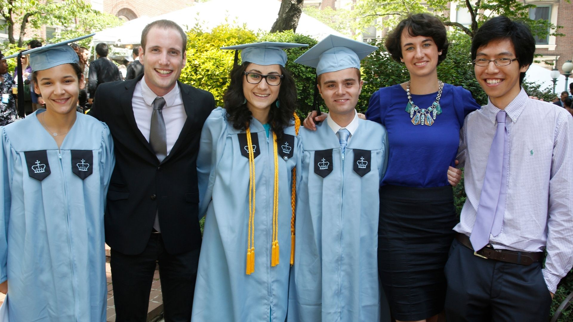 Dual BA Program alumni at 2013 class day