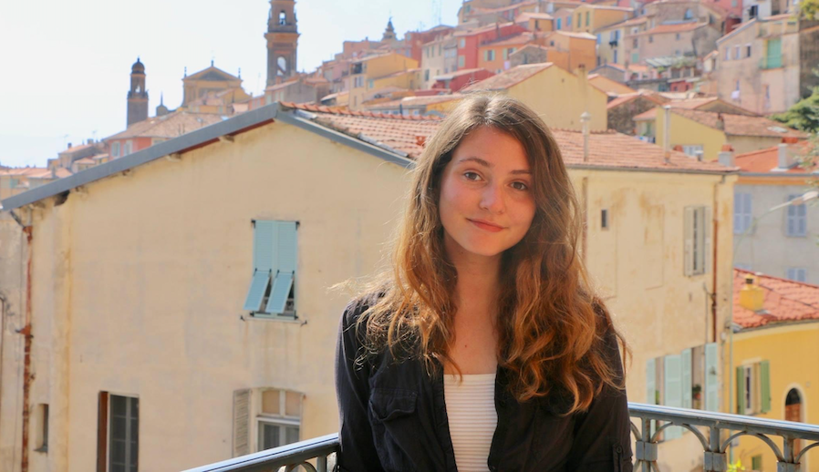Safia Southey '21GS in Menton, France